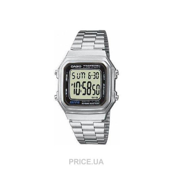Casio A-178WEA-1A  Купить в Украине - Сравнить цены на наручные часы ... 993f9531392