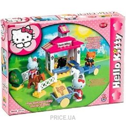 48d037456f8d ... Конструктор детский Конструктор UNICO PLUS Конюшня Hello Kitty 8653