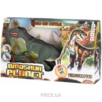 Same Toy Dinosaur Planet Велоцираптор серый (RS6134Ut)