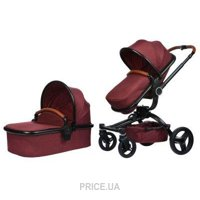 Фото Miqilong V-BABY X159 Dark red (X159-05)