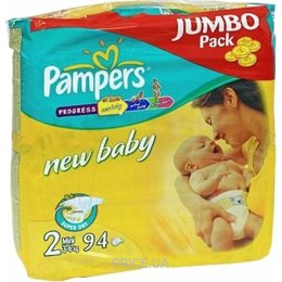 Фото Pampers New Baby Mini 2 (94 шт.)
