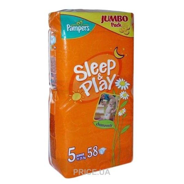 c572367b5178 Pampers Sleep Play Junior 5 (58 шт.)  Купить в Харькове - Сравнить ...