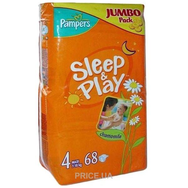 Pampers Sleep Play Maxi 4 (68 шт.)  Купить в Мариуполе - Сравнить ... e8f8406a58f