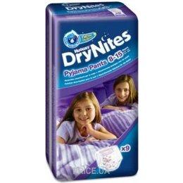 9bf4a26b9b41 Huggies DryNites для девочек 8-15 лет 27-57 кг (9 шт.)  Купить в ...