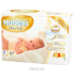 Подгузник Huggies Elite Soft 2 (27 шт.)