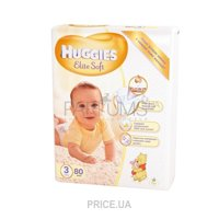 Huggies Elite Soft 3 (80 шт.)