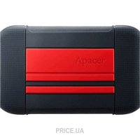 Apacer AC633 1TB Power Red X Tough Black (AP1TBAC633R-1)