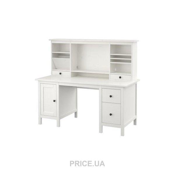 Ikea Hemnes письменный стол с дополнительным модулем 29000504