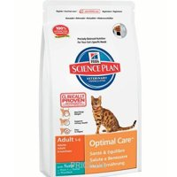 Фото Hill's Science Plan Feline Adult Optimal Care with Tuna 10 кг