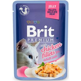 Фото Brit Premium with Chicken Fillets in Jelly for Adult Cats 85 гр