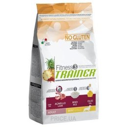 Фото Trainer Fitness3 Adult Mini Lamb Rice Oil 2 кг