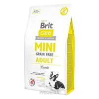 Фото Brit Care Mini Grain-Free Adult Lamb 2 кг