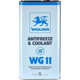 Wolver Antifreeze & Coolant WG11 Ready To Use готовый антифриз, 5 л