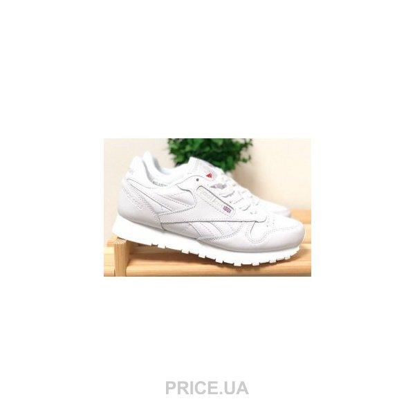Reebok Женские кроссовки Reebok Classic Leather белые 32918. 0.0. цены в  Украине 2ad97aa6ae560