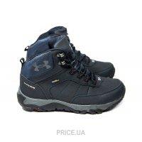 cfe39fddad78 Ботинок, полуботинок мужской Under Armour Мужские ботинки на меху Under  Armour темно-синие F16