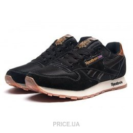 Reebok Мужские кроссовки Reebok Classic Leather черные E11381 ... ed7954088a5d9