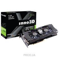 Inno3D GeForce GTX 1080 Twin X2 8Gb (N1080-1SDN-P6DN)