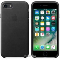 Apple iPhone 7 Leather Case - Black (MMY52)
