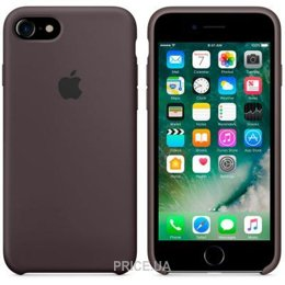 Фото Apple iPhone 7 Silicone Case - Cocoa (MMX22)
