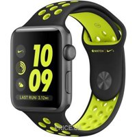 Фото Apple Watch Nike+ 38mm Space Gray Aluminum Case with Black/Volt Nike Sport Band (MP082)