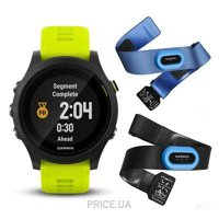 Фото Garmin Forerunner 935 Tri-bundle Black with Yellow Straps (010-01746-06)