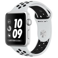 Фото Apple Watch Series 3 Nike+ (GPS) 42mm Silver Aluminum w. Pure Platinum/BlackSport B. (MQL32)