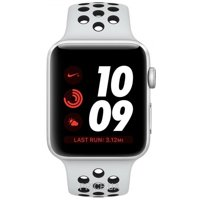 Фото Apple Watch Series 3 Nike+ (GPS) 38mm Silver Aluminum w. Pure Platinum/BlackSport B. (MQKX2)