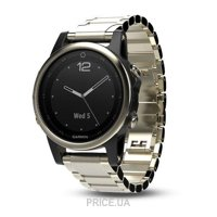 Фото Garmin Fenix 5S Sapphire Champagne with Metal Band (010-01685-15)