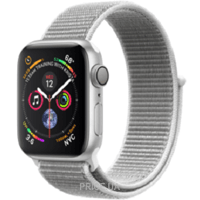 Фото Apple Watch Series 4 (GPS) 40mm Silver Aluminium Case with Seashell Sport Loop (MU652)