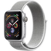 Фото Apple Watch Series 4 GPS + Cellular 40mm Silver Aluminum Case with Seashell Sport Loop (MTVC2)