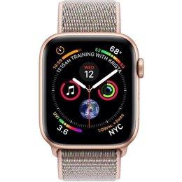 c93476a6 ... Умные часы, браслет спортивный Apple Watch GPS + Cellular 40mm Gold  Aluminum Case with Pink