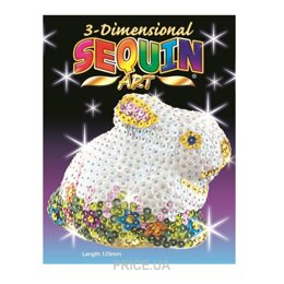 Sequin Art 3D Rabbit (SA1705)