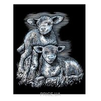 Фото Sequin Art ARTFOIL SILVER Lambs (SA0538)