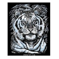 Фото Sequin Art ARTFOIL SILVER White Tiger (SA1017)