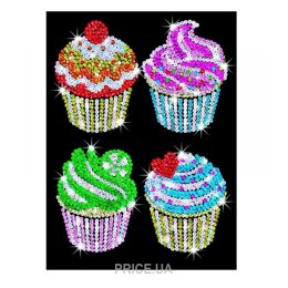 Sequin Art BLUE Cupcakes (SA1130)