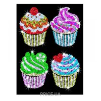 Фото Sequin Art BLUE Cupcakes (SA1130)