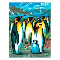 Фото Sequin Art PAINTING BY NUMBERS JUNIOR Penguins (SA0033)