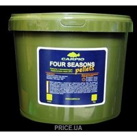 Carpio Пеллетс Four Seasons Pellets 6mm 7kg