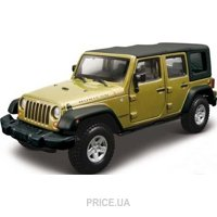 Bburago Jeep Wrangler Unlimited Rubicon (18-43012)
